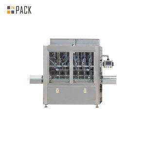 आवश्यक तेलको लागि स्वचालित रैखिक सीधा पिस्टन भरिने मेशीन
