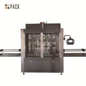 दुई टाउको न्युमेटिक वॉल्यूमेट्रिक पिस्टन लिक्विड फिलि machine मेशिन