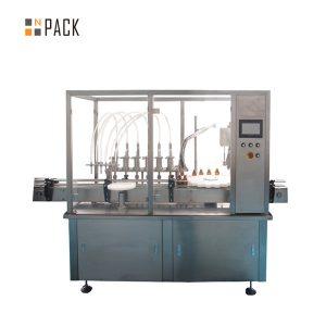 30ml सानो बोतल भरी क्यापिंग र लेबलिंग मेशीन