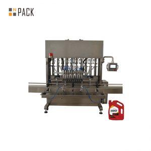 ग्लास जारको लागि उच्च गुणवत्ता पूर्ण स्वचालित सानो टमाटर पेस्ट बोतल भरी क्यापिंग लेबलिंग मेशीन