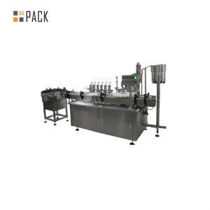 ई सिगरेट तरलको लागि अनुकूलित गिलास ड्रॉपर ई तरल पदार्थ भरिने क्यापिंग लेबलिंग मेशीन