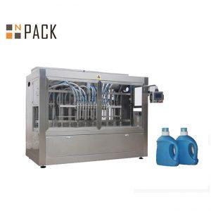 स्वचालित तरल १० नोजल सरसको तेल बोतल प्याकिंग मेशिन