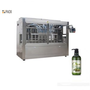 पूर्ण स्वचालित बोतल हात नुहाउने शैम्पू भरिने मेशीन
