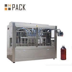 स्वचालित खाना पकाउने तेल भरने मेसिन सॉस जाम मह भरी क्यापिंग मेशीन